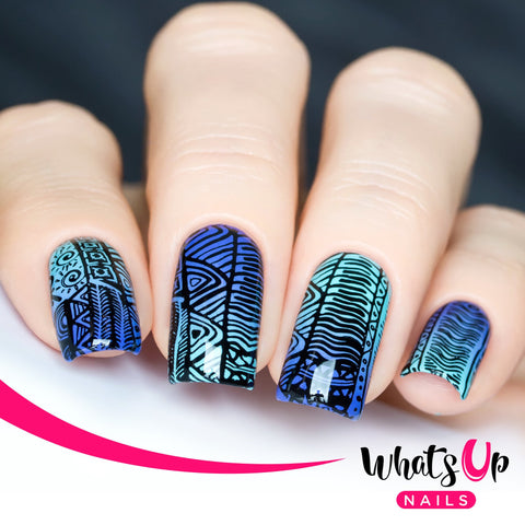 Daily Charme Nail Supply Stamping Plates Whats Up Nails / A Walk on the Wild Side