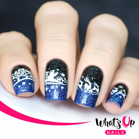 Daily Charme Nail Supply Stamping Plates Whats Up Nails / Holiday Snowfall