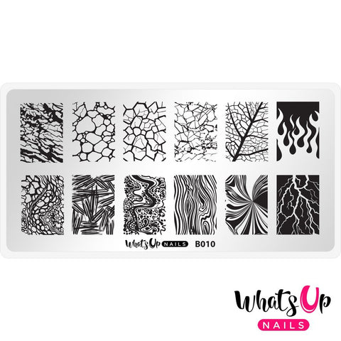 Daily Charme Nail Supply Stamping Plates Whats Up Nails / Texture Me Nature