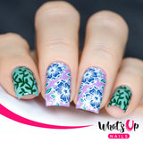 Daily Charme Nail Supply Stamping Plates Whats Up Nails / Fields of Flowers