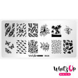 Daily Charme Nail Supply Stamping Plates Whats Up Nails / Tropical Escape