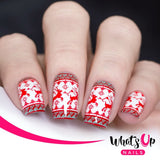Daily Charme Nail Stamping Whats Up Nails / Count On Me!