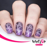 Whats Up Nails Stamping Plate / Sveta_Sanders DIY Cat Raccoon
