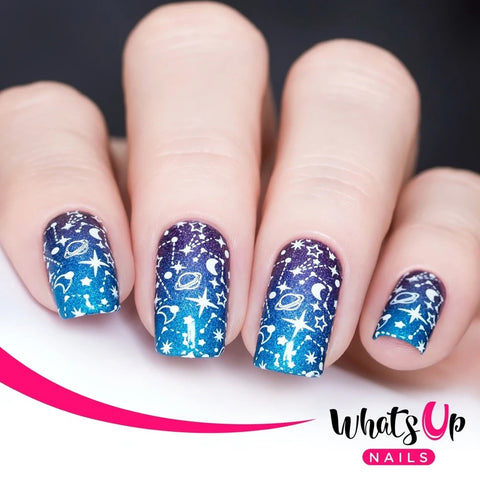 Daily Charme Whats Up Nails Stamping Plate / Nailsandtowel