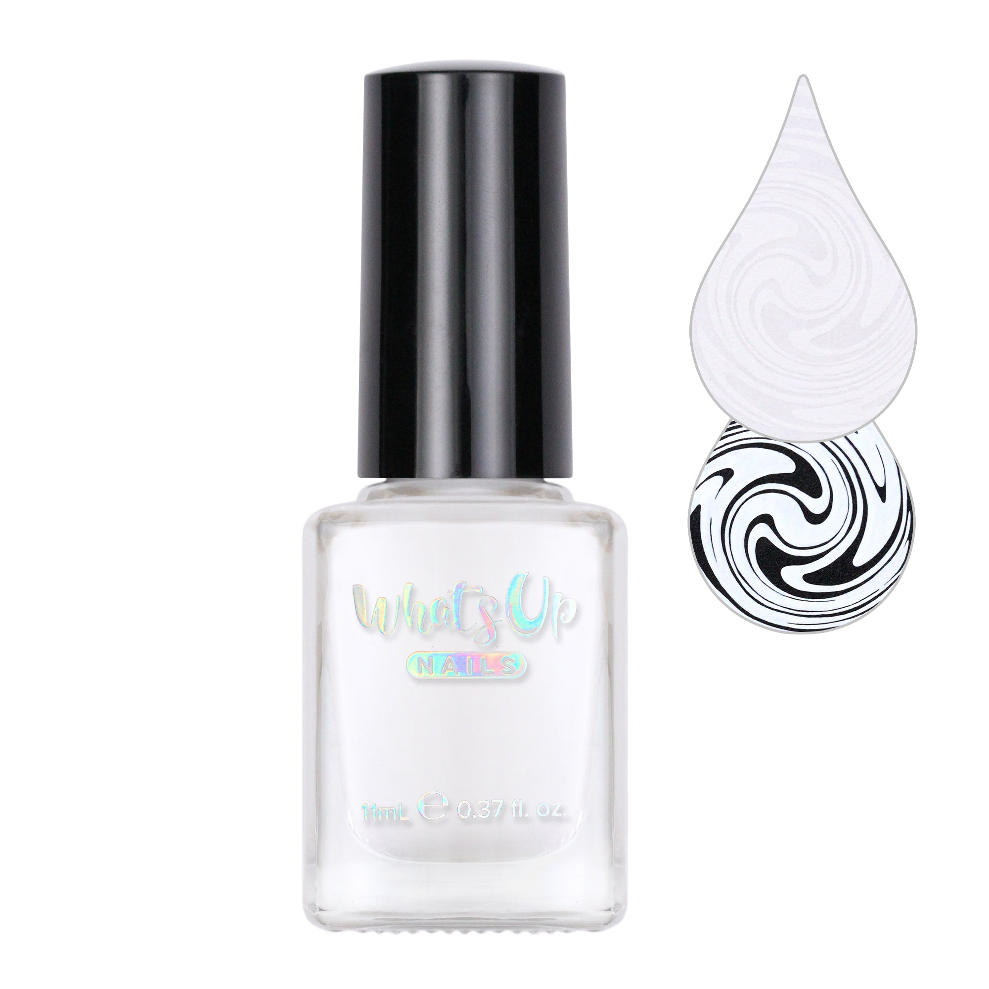 Whats Up Nails / Blanc My Mind Stamping Polish