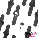 Daily Charme Nail Art Supply Nail Vinyls Whats Up Nails / Palm Stickers & Stencils