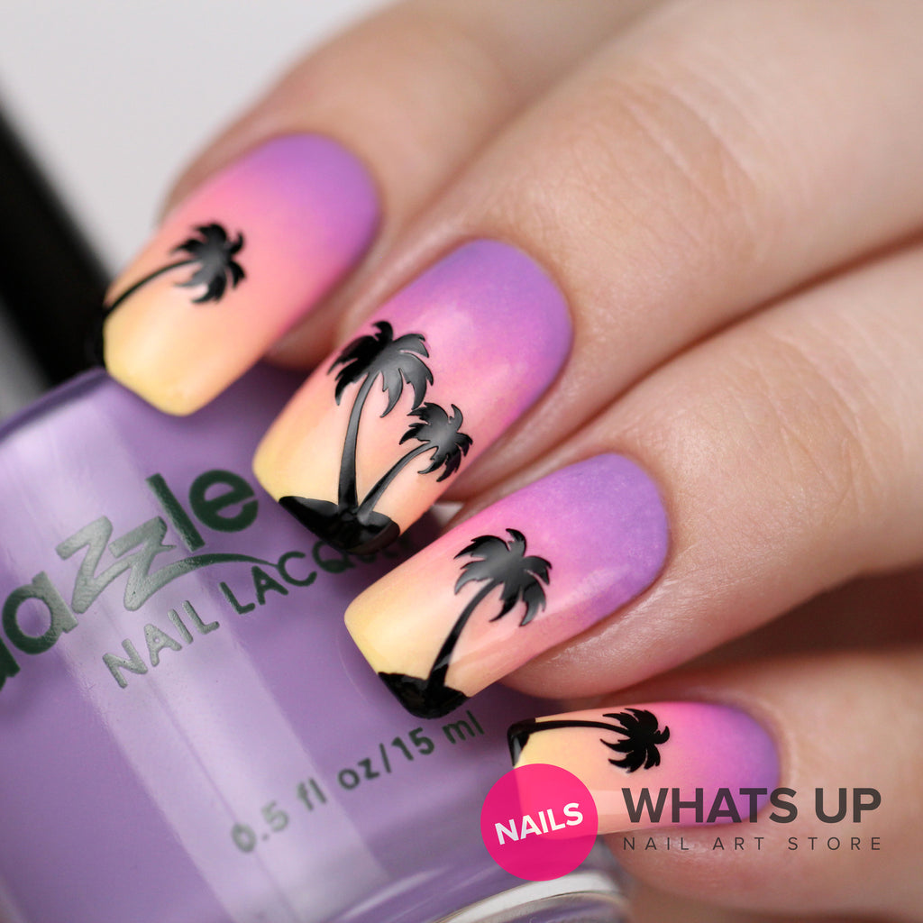 Whats Up Nails / Palm Stickers & Stencils – Daily Charme