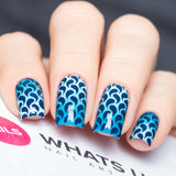 Daily Charme Nail Art Supply Nail Vinyls Sticker Stencil Whats Up Nails / Droplets Stickers & Stencils