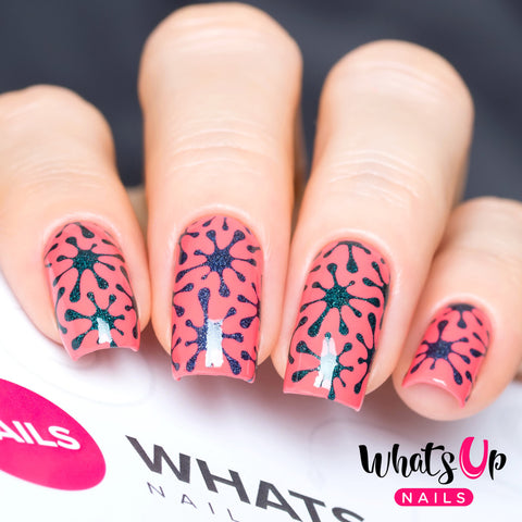 Nail Vinyl Whats Up Nails / Splatter Stickers & Stencils