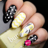 Daily Charme Nail Art Supply Nail Vinyls Sticker Stencil Whats Up Nails / Regular Zig Zag Tape