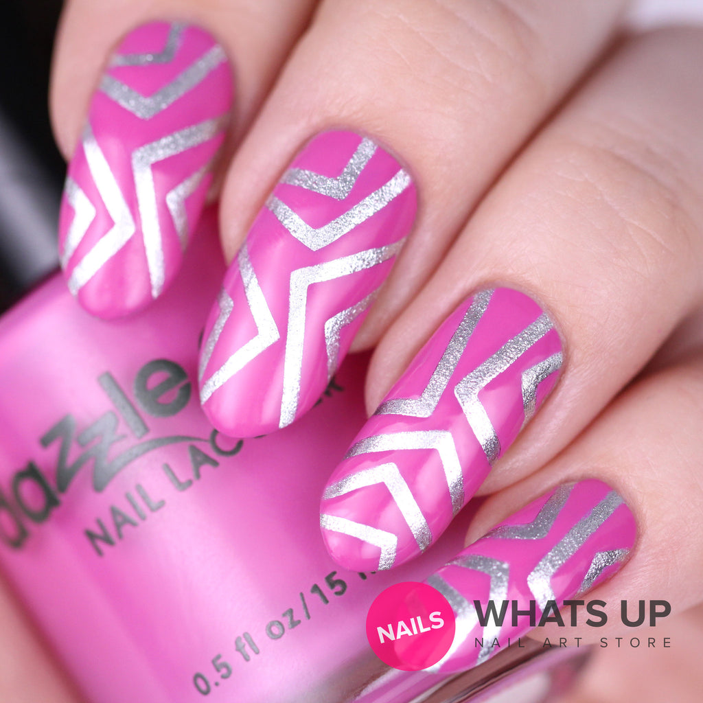 Whats Up Nails / Skinny Chevron Tape – Daily Charme