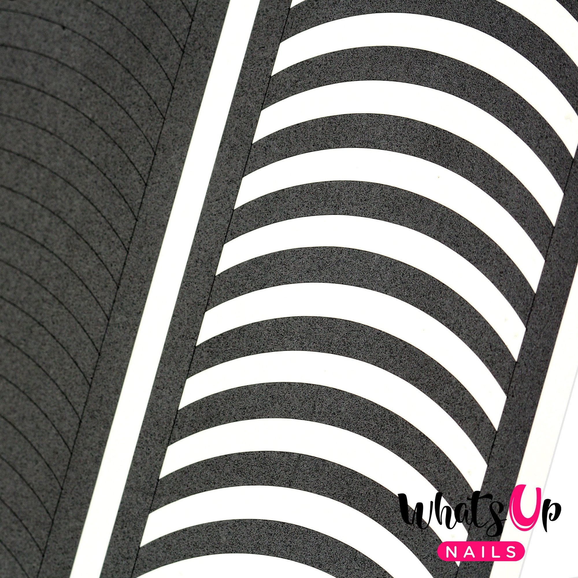 Daily Charme Nail Art Supply Nail Vinyls Sticker Stencil Whats Up Nails / French Tip Tape