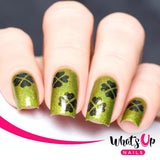 whats up nails saint patrick day shamrock clover field nail stickers stencils nail vinyls daily charme