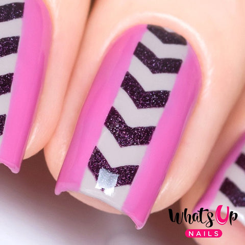 Daily Charme Nail Art Supply Nail Vinyls Sticker Stencil Whats Up Nails / Arrows Stencils