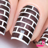 Whats Up Nails / Brick Stencils