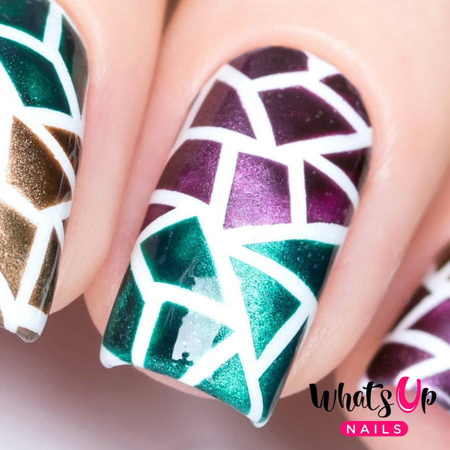Whats Up Nails / Mosaic Stencils