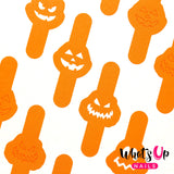 Daily Charme Nail Art Supply Nail Vinyls Sticker Stencil Whats Up Nails / Pumpkin Faces Stencils