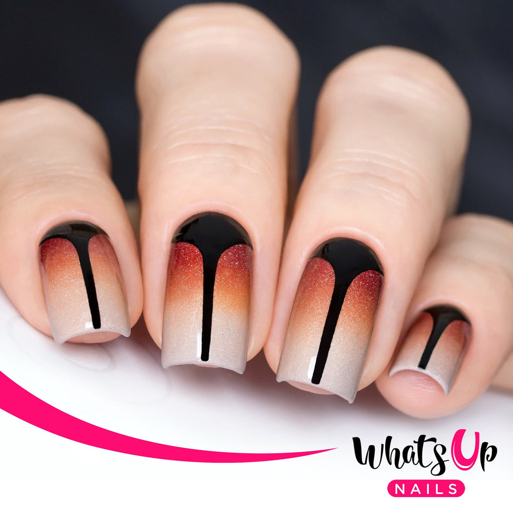 Daily Charme Nail Art Supply Nail Vinyls Sticker Stencil Whats Up Nails / Stiletto Tape & Stencils