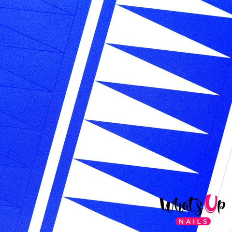 Daily Charme Nail Art Supply Nail Vinyls Sticker Stencil Whats Up Nails / Triangle Tape