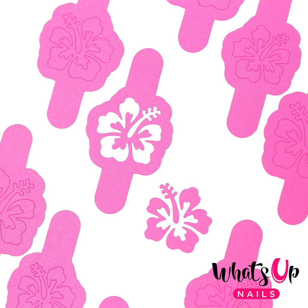 Whats Up Nails / Hibiscus Stencils – Daily Charme
