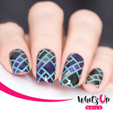 DailyCharme Whats Up Nails / Stained Glass Stencils