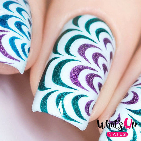 Daily Charme Whats Up Nails / Water Marble Stencils