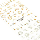 Withshyan 3D Crystal Nail Sticker 04 Starry Night