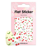 Withshyan Korean Quality Nail Art Sticker 25 Cherries