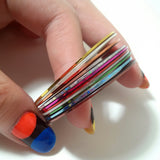 Nail Art Decoration - Set of Nail Art Tapes - 10 Colors