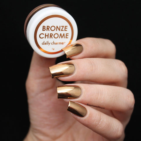 Mirror Bronze Chrome Powder