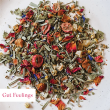 Load image into Gallery viewer, Gut Feelings Glass Jar with Tea (Available 31st May)
