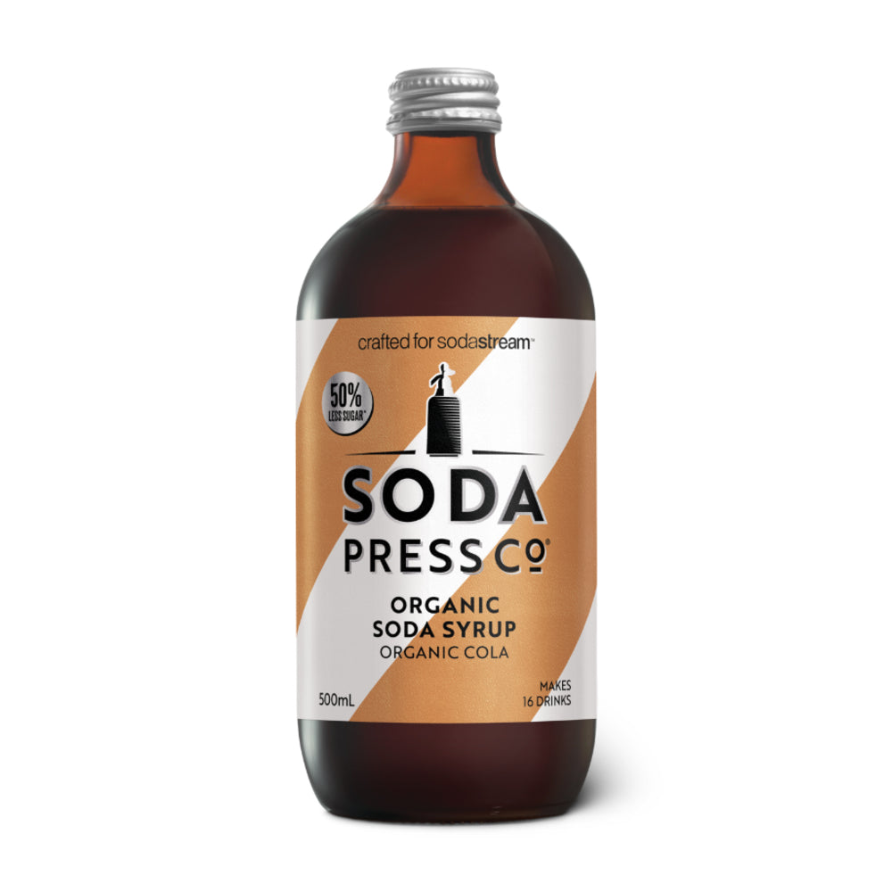 Soda Press Organic Cola