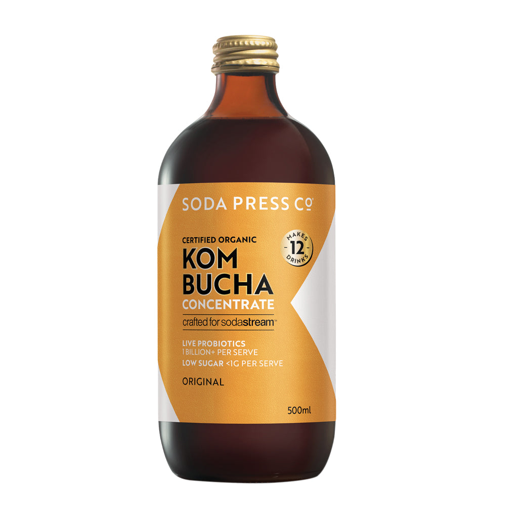 Soda Press Kombucha Concentrate