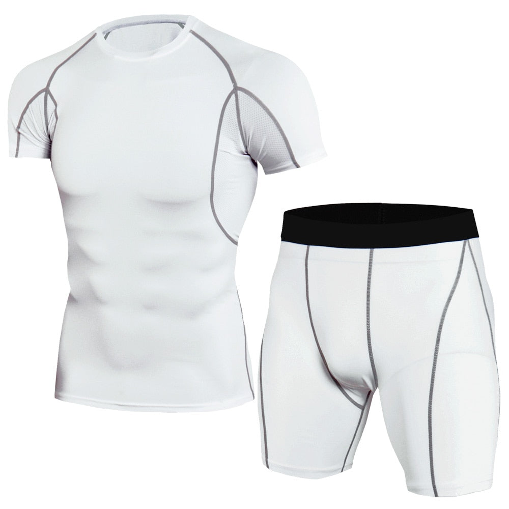Men's Thermal Underwear Short Sleeve Sets