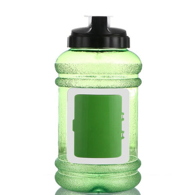 Gym Water Bottle With a Storage compartment 2.2L