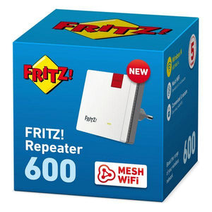 Access Point Repeater Fritz! 600 2.4 GHz 600 Mbps Hvid - CYBERSHOP