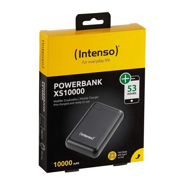 Batteri INTENSO 7313530 10000 mAh Sort - CYBERSHOP