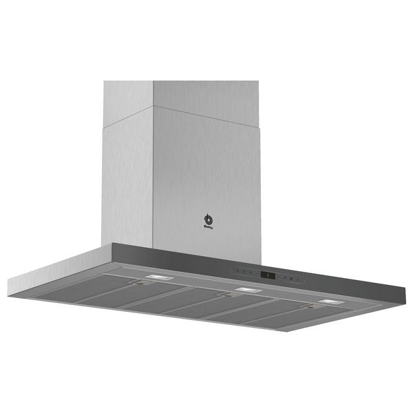 Konventions-emhætte Balay 3BC998HGC 90 cm 843 m³/h 165W A+ Antracit - CYBERSHOP