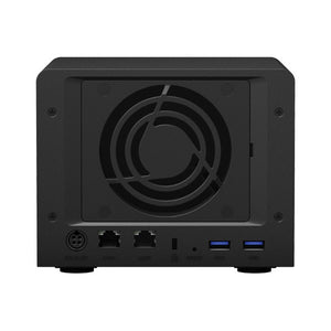 NAS-netværkslagring Synology DS620slim Celeron J3355 2 GB RAM Sort