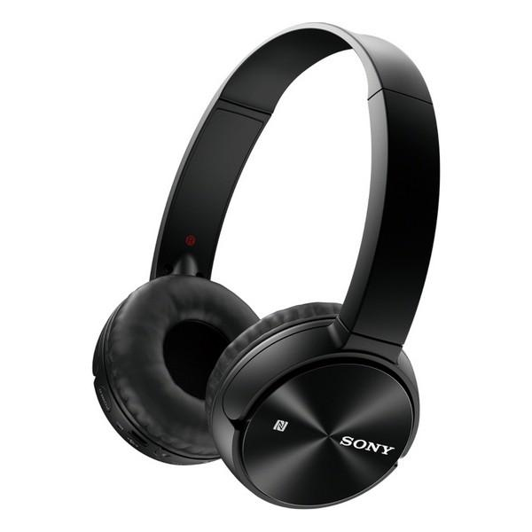 Bluetooth-hovedtelefoner Sony MDR-ZX330BT Sort - CYBERSHOP