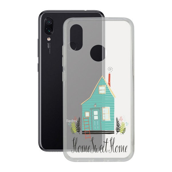 Mobilcover Xiaomi Note 7 Contact Flex Home TPU - CYBERSHOP