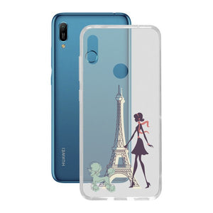 Mobilcover Huawei Y6 2019 Contact Flex France TPU - CYBERSHOP