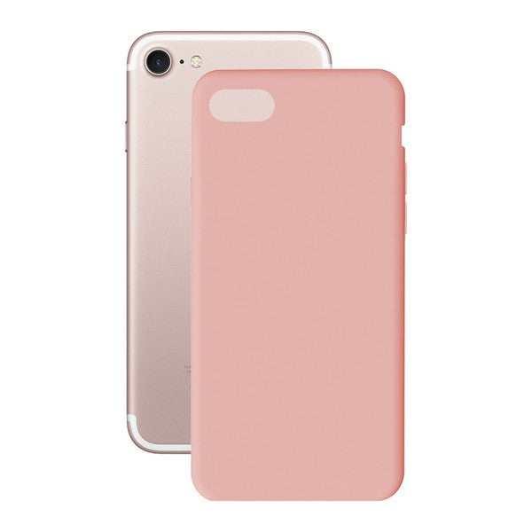Mobilcover Iphone 7+/8+ KSIX Soft Cover TPU Pink - CYBERSHOP