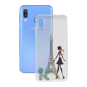 Mobilcover Samsung Galaxy A40 Contact Flex France TPU - CYBERSHOP