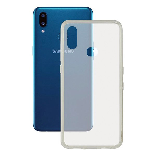 Mobilcover Samsung Galaxy A20s Contact Flex TPU Gennemsigtig - CYBERSHOP