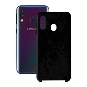 Mobilcover Samsung Galaxy A40 KSIX Soft - CYBERSHOP