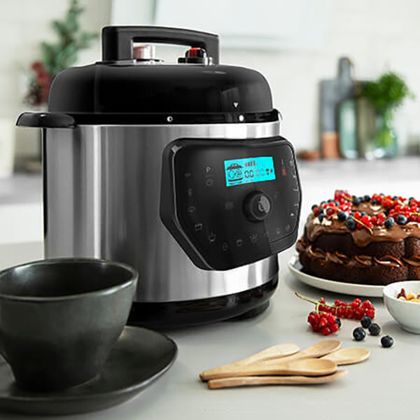 Foodprocessor Cecotec H Deluxe 6 L LCD Rustfrit stål