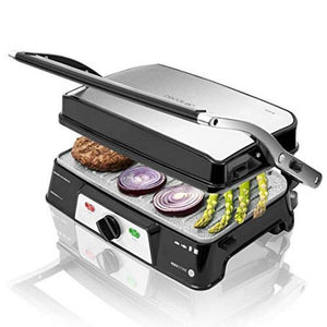 Contact Grill Cecotec Rock'n grill 1500 Take&Clean 1500W Sort Sølvfarvet