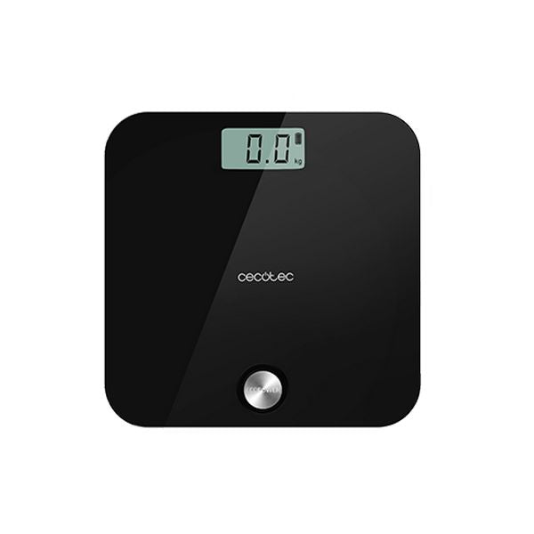 Digital badevægt Cecotec EcoPower 10000 Healthy Black LCD 180 kg Sort