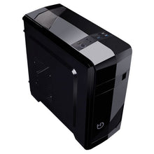 Indlæs billede til gallerivisning Mikro ATX mid-tower case Hiditec ATX M10 USB 3.0 Sort